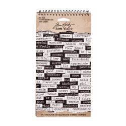 TH93192 Tim Holtz® Idea-ology™ Big Chat Sticker Book